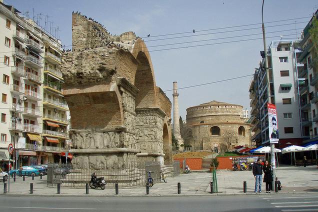 Arcada Triumfală a lui Galerius [POI]