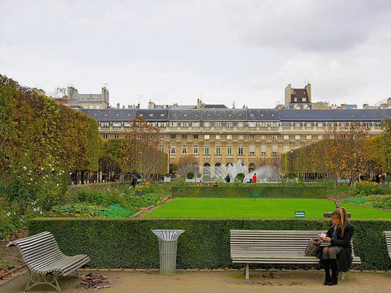 Grădina Palatului Royal [POI]