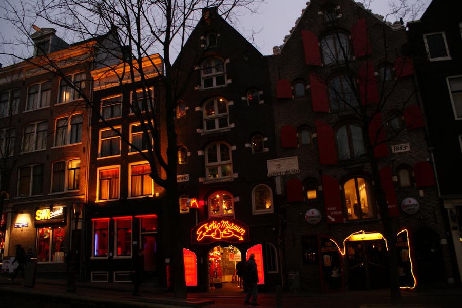 Cartierul Felinarul Roşu Amsterdam [POI]