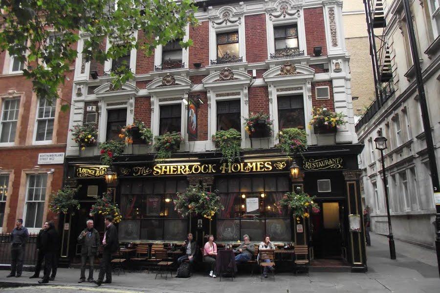 Sherlock Holmes Pub [POI]
