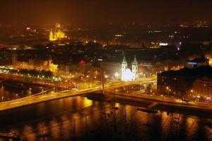 Noaptea in Budapesta