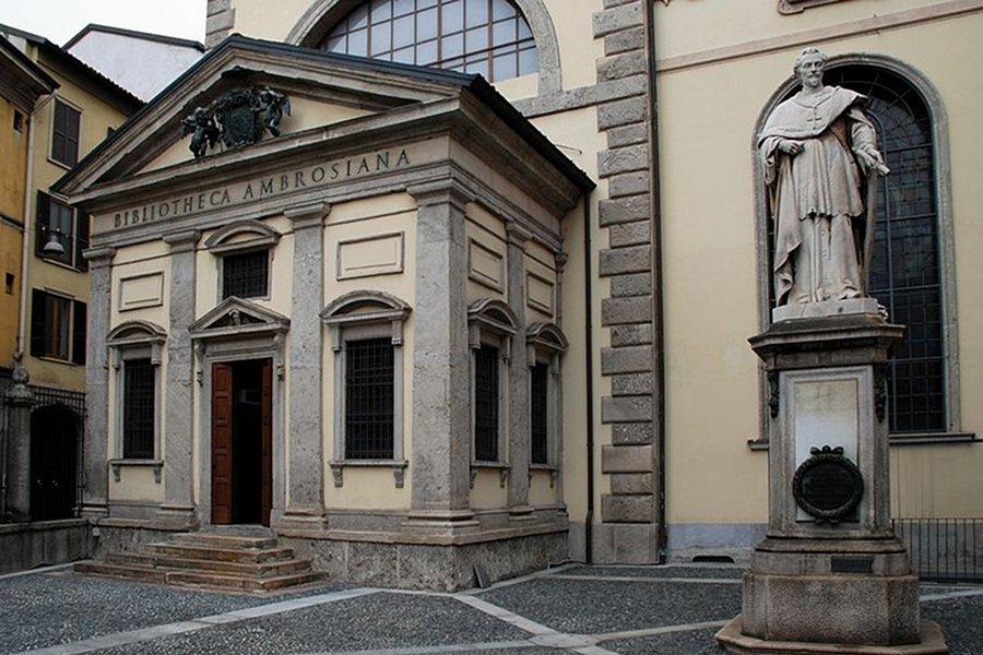 Biblioteca Ambrosiană (Biblioteca Ambroziana) [POI]