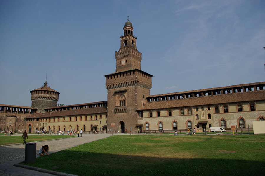 Castelul Sforzesco (Castello Sforzesco) [POI]