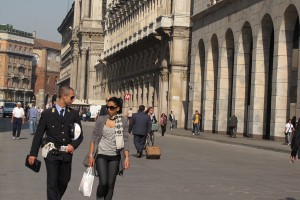 Pe strazile din Milano