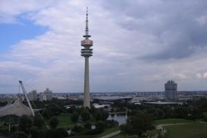 Turnul care supravegheaza Munchenul