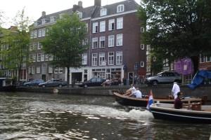 plimbare cu barca in Amsterdam