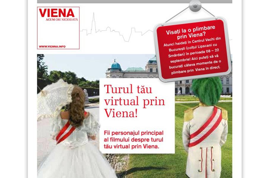 Cum vizitezi Viena în centrul Bucureştiului?