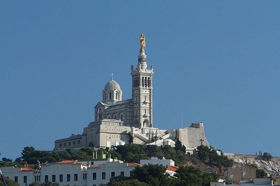 Basilica Notre Dame Marsilia (Notre-Dame de la Garde Marseille) [POI]