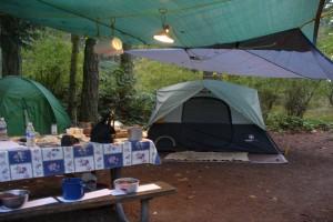 Campingul are multi adepti