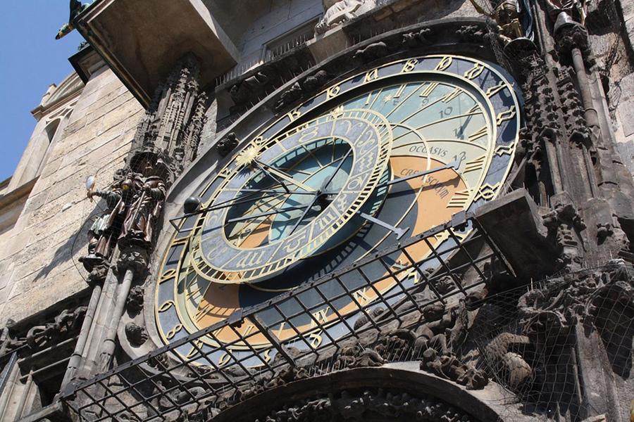 Ceasul astronomic (Pražský orloj) [POI]