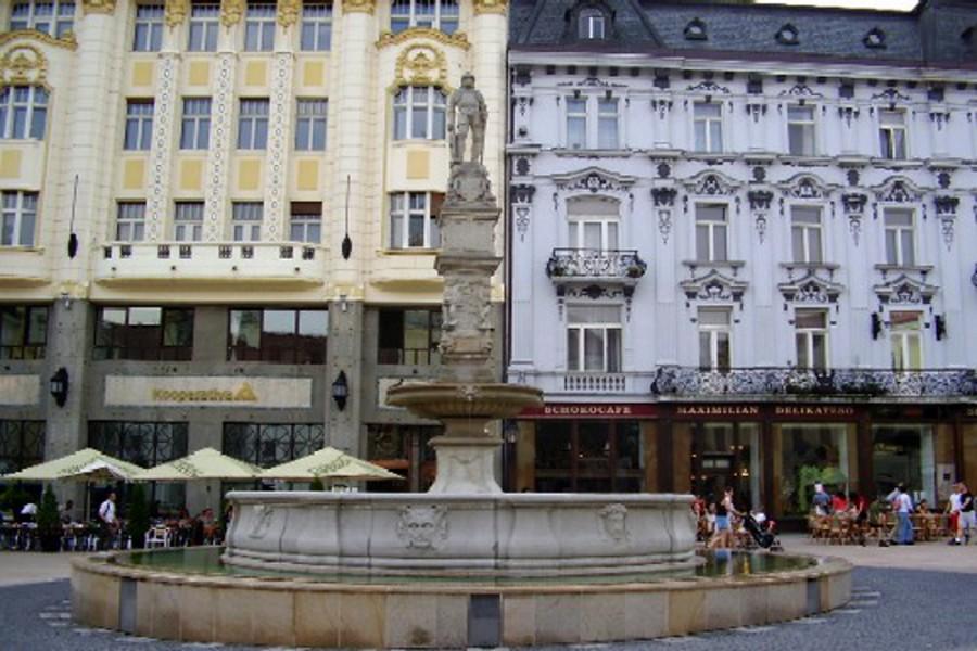 Fântâna Roland (Rolandova fontána) [POI]