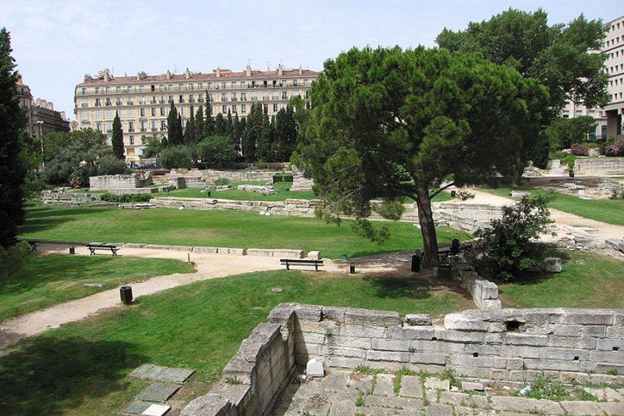 Grădinile vechi din Marsilia (Jardin des Vestiges) [POI]