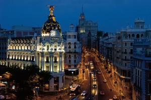 Madrid seara