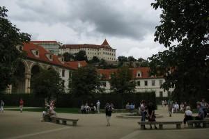 Parte din gradina Wallenstein