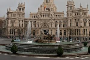 Plaza de Cibeles din Madrid