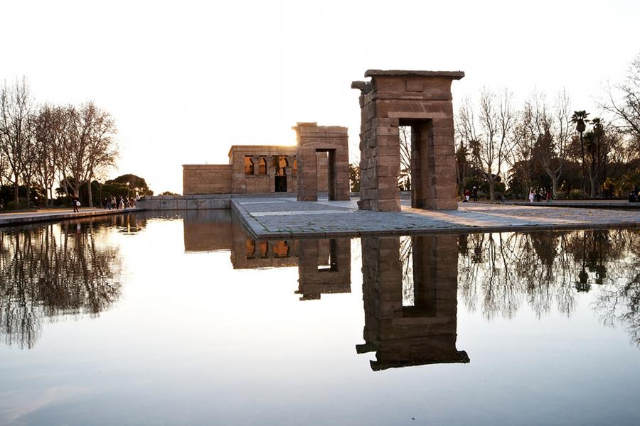 Templul Debod (Templo de Debod) [POI]