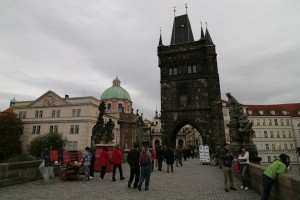 Turisti in Praga