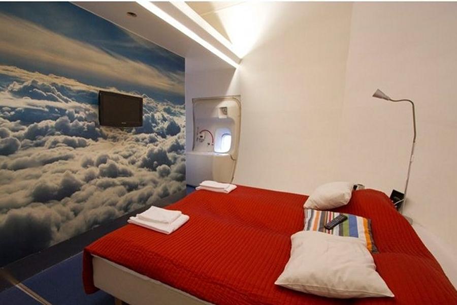Hotel într-un Boeing 747