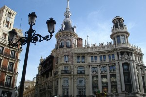 strada din Madrid