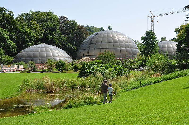 Grădina Botanică Zurich (Botanischer Garten) [POI]