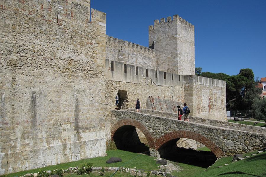 Castelul Sfântul George (Castelo de Sao Jorge) [POI]