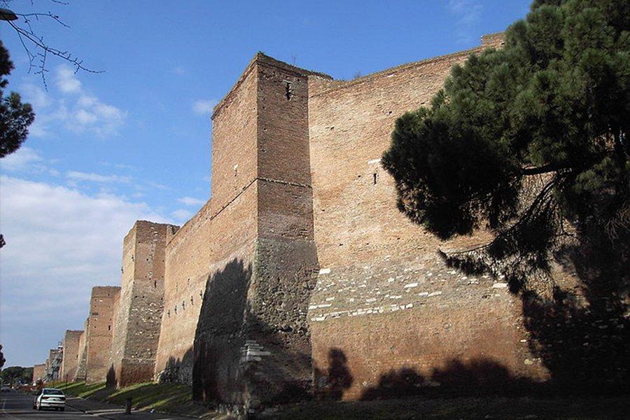 Zidurile Aureliane (Mura aureliane) [POI]