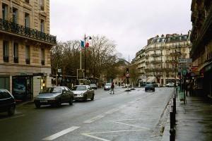 Stradă în Paris