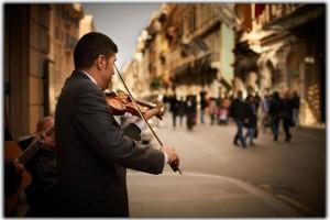 Roma muzica stradala