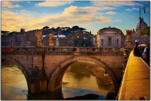 Tibrul este râul care străbate Roma