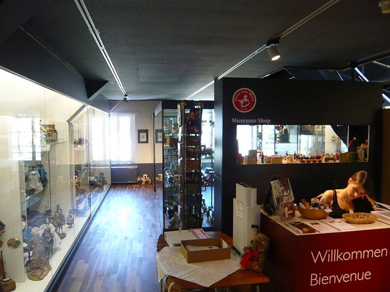 Muzeul jucăriilor (Spielzeugmuseum Zürich) [POI]