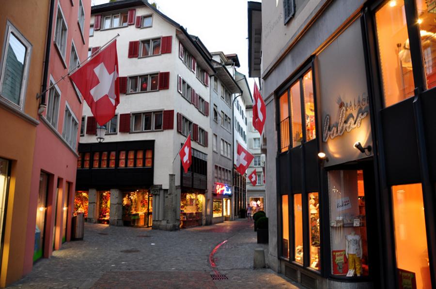Zurich-ul vechi (Altstadt) [POI]
