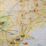 Hartă turistică Napoli