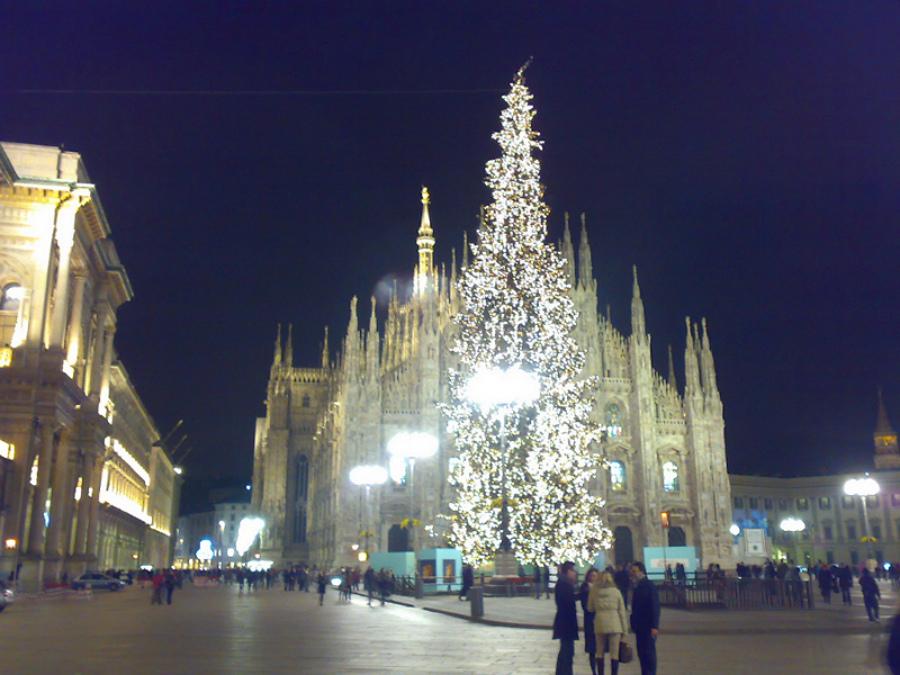 Crăciun italian în Milano
