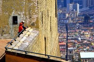 Napoli, văzut de la înălţime