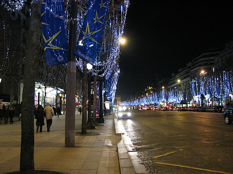 De Crăciun în Paris