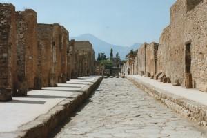 Strazile orasului Pompei