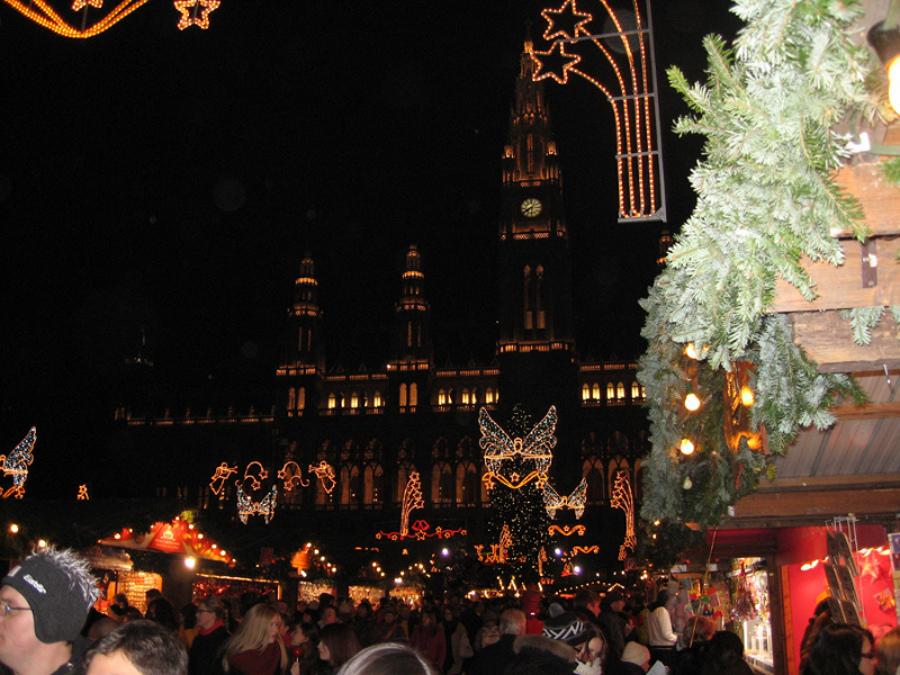 Magia Crăciunului în Viena