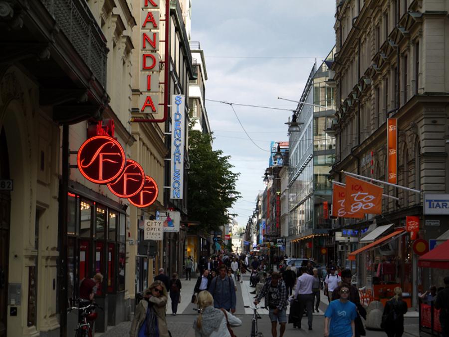 La cumpărături şi distracţie prin Stockholm
