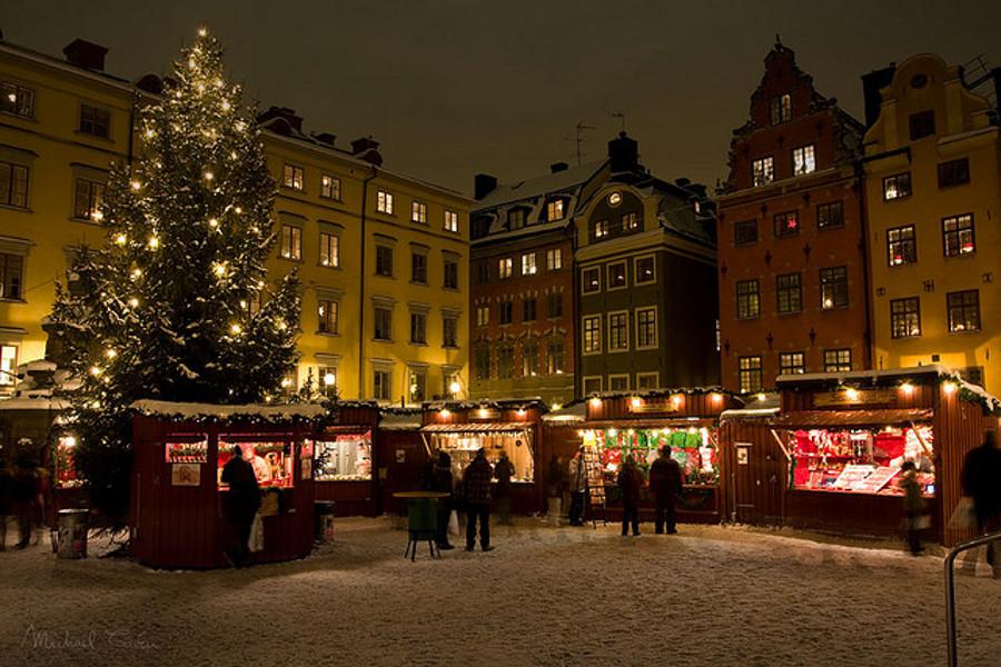 Crăciun peste hotare, cu cel mic prin Stockholm