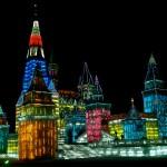 Cateva din creatiile Festivalului de Gheata de la Harbin