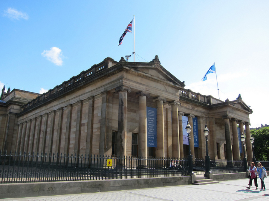 Galeria Naţională de Artă din Edinburgh (National Gallery of Scotland) [POI]