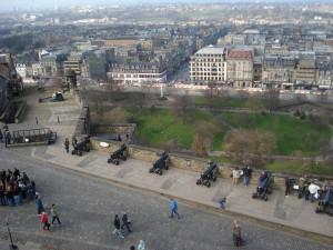 Latura a Castelului din Edinburgh