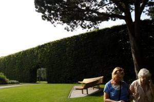 Locuitori din Edinburgh in Gradina Botanica