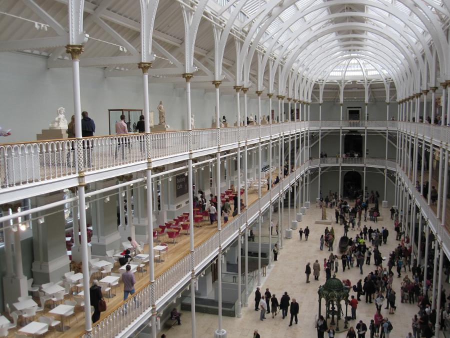 Muzeul Naţional al Scoţiei (The National Museum of Scotland) [POI]