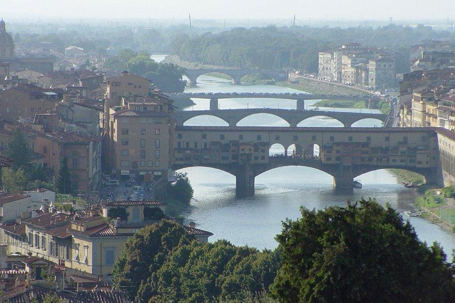 Podul vechi din Florenţa (Ponte Vecchio Firenze) [POI]
