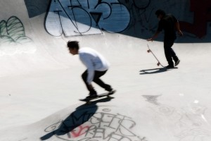 Skating prin Bruxelles