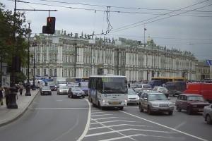 Transport în comun la Sankt Petersburg