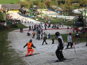 Una dintre partiile de la Midlothian Snowsports Center