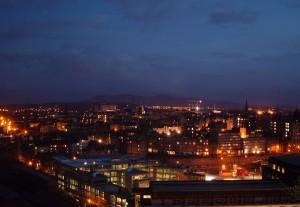 Viata de noapte este foarte apreciata in Edinburgh