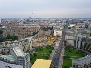 Berlinul vazut de sus